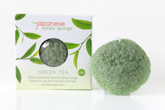 Green Tea Konjac Puff