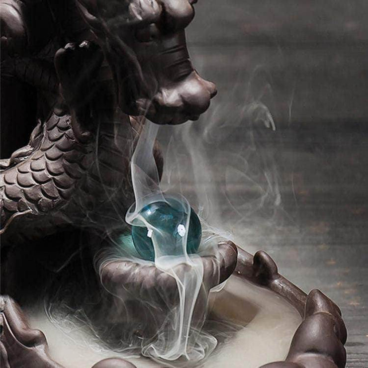 Eternal Dragon Incense Burner