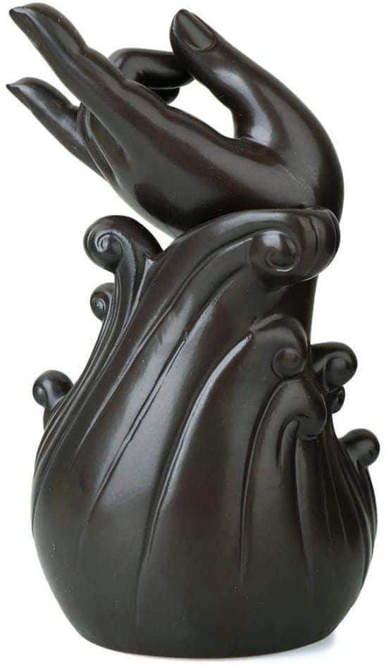 Incense Waterfall Incense Burner Brown God's Hand