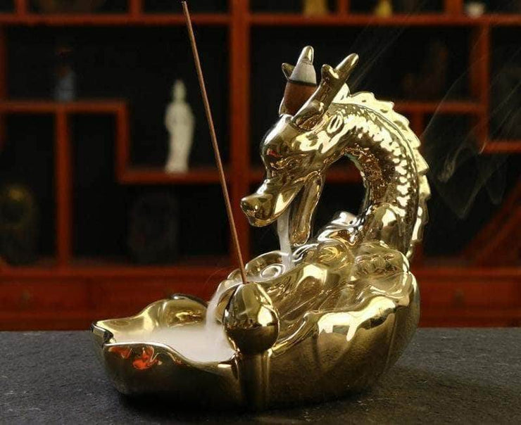 Gold Dragon Burner