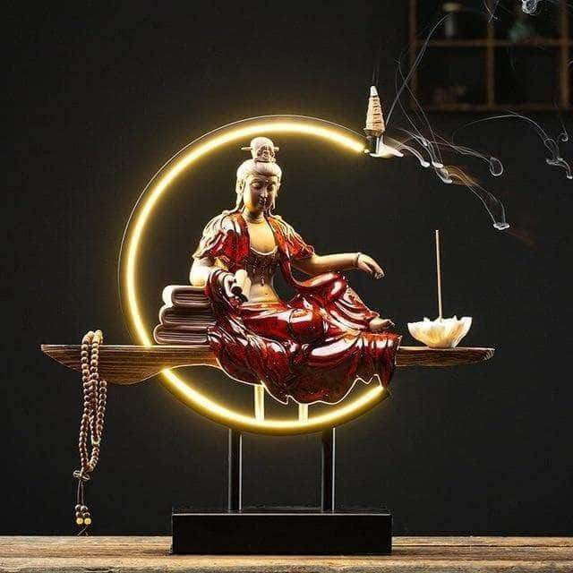 Lightful Buddha Backflow Incense