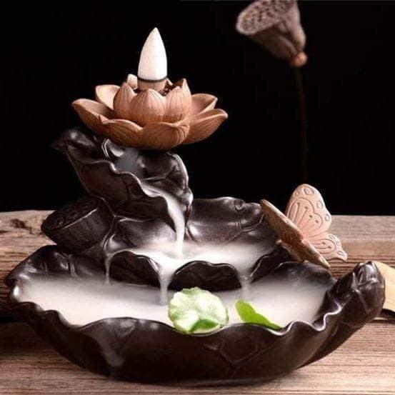 Lotus Backflow Waterfall Incense Waterfall