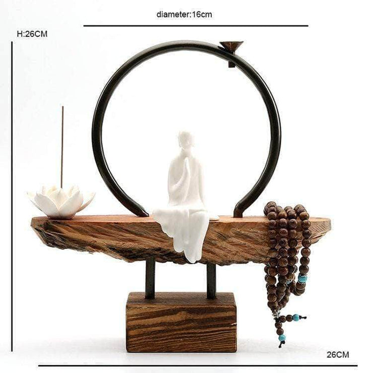 Little Monk Waterfall Incense Burner Incense Waterfall