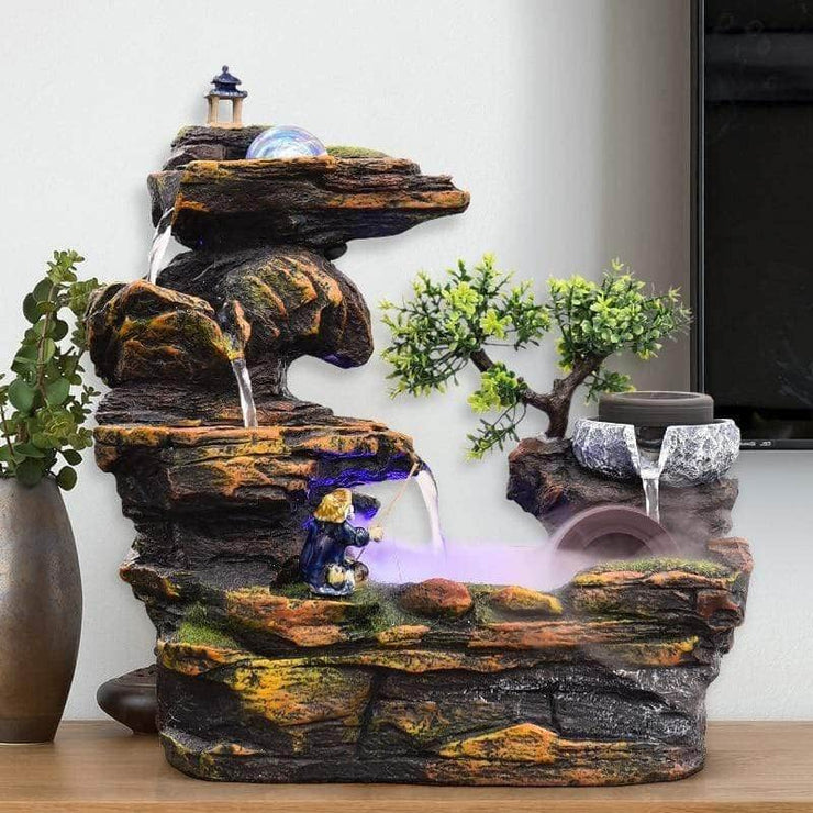 Rockery Desktop Fountain