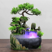 Zen Forest Water Fountain Incense waterfall