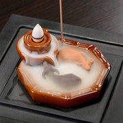 AHIMSA Backflow Burner - Incense Waterfall