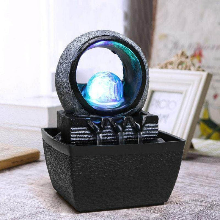 Lucky Ball Indoor Fountain Incense Waterfall