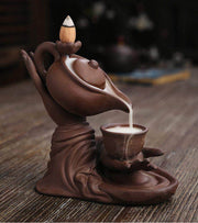 Buddha Tea Pot Backflow - Incense Waterfall