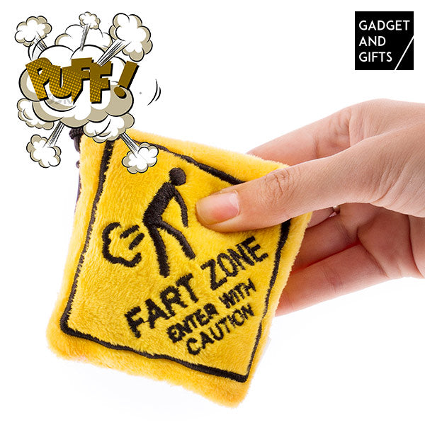Gadget and Gifts Fart Zone Sleutelhanger