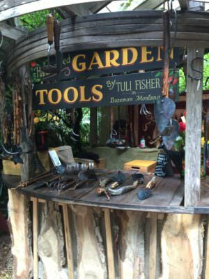 Garden Show Booth for Handcrafted Tools