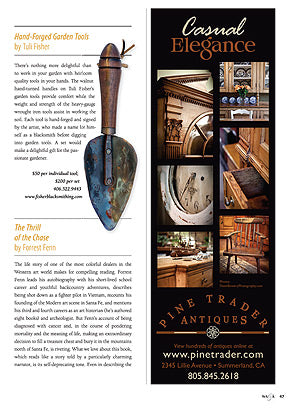 Western Arts & Architecture Magazine featuring garden tool set in favorite things
