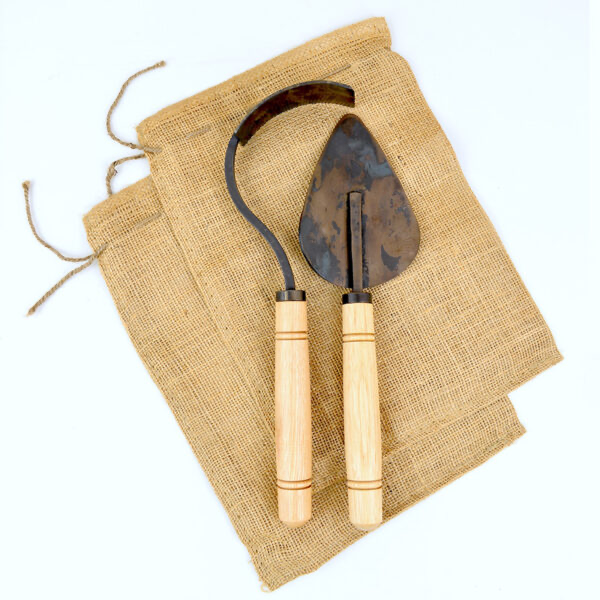 Homestead Gardening Tool Set | Forged & Welded | Set of Two