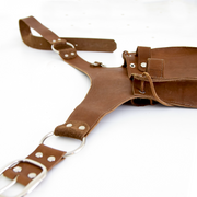 Garden Tool Belt | Leather | Hand Cut and Sewn
