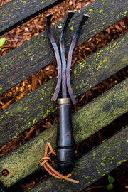 Handcrafted Garden Rake | with Handturned Black Walnut Handle