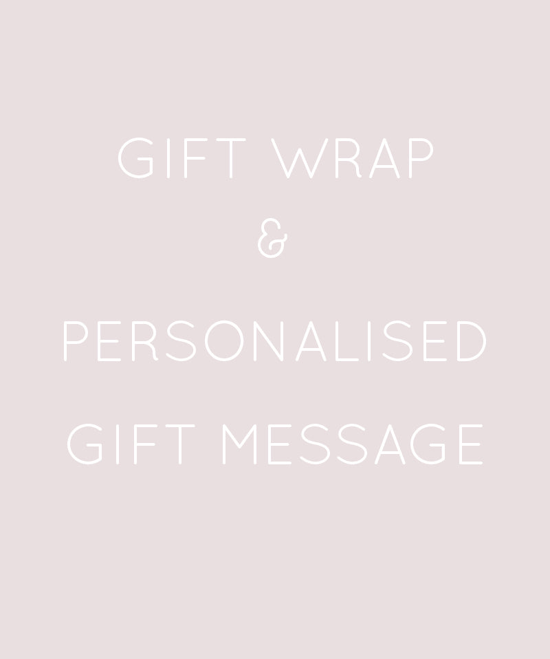Gift Wrapping & Personalised Gift Message