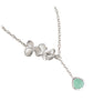 Orchid Trio & Turquoise Jewel Premium Necklace