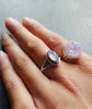 Wanderlust Rainbow Moonstone Sterling Silver Ring