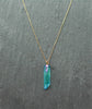 Turquoise Angel Aura Healing Quartz Kida Necklace