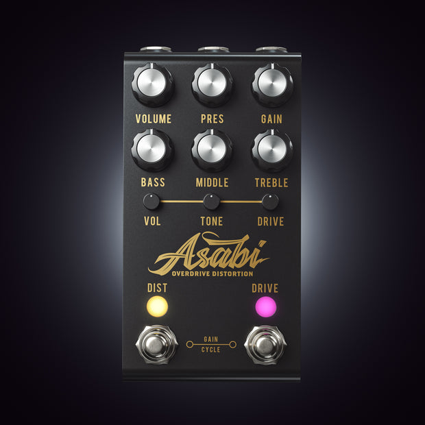 Asabi Overdrive Distortion - Mateus Asato Signature