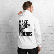 Sudadera Make Money Not Friends Blanca