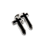 Crosses Enamel Pin