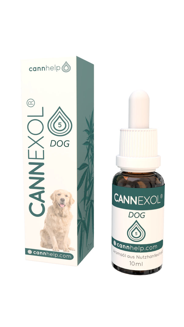 5% CBD oil for dogs, fullspectrum, organic, 10ml