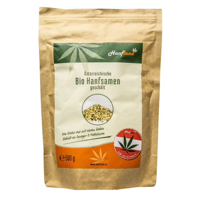 shelled hemp seeds_organic_500gr