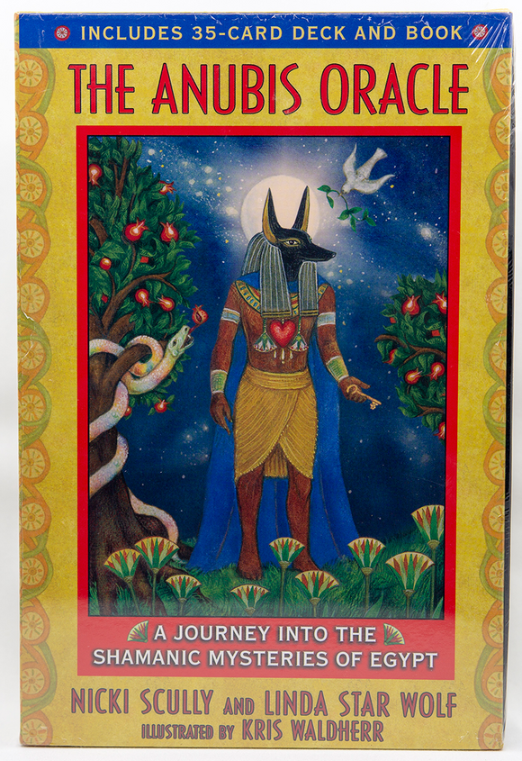 Anubis Oracle Tarot, Kit