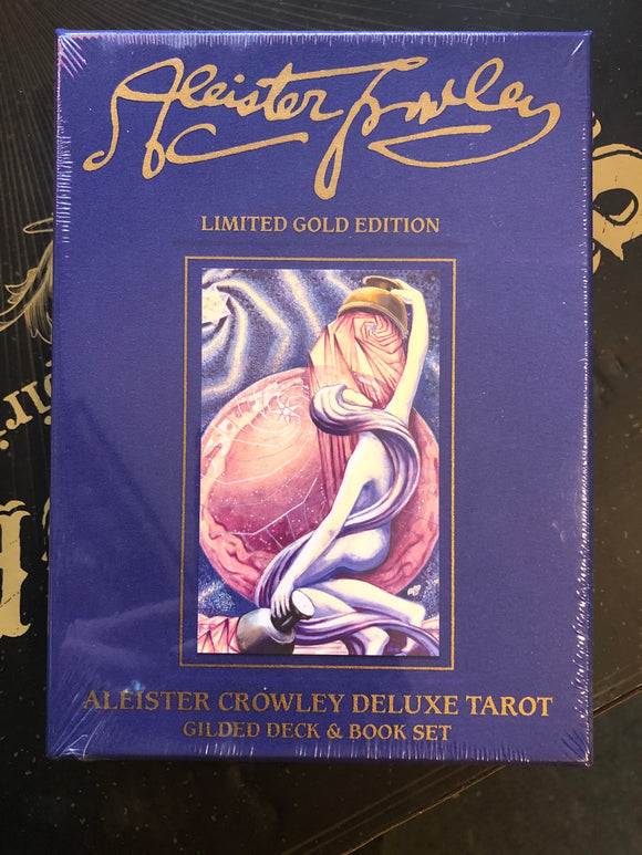 Aleister Crowley Deluxe Tarot Limited Gold Edition