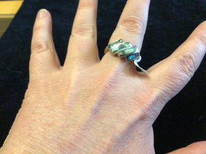 Abalone inlaid in Sterling Silver Ring