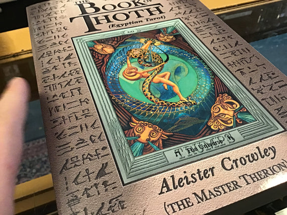 Book Of Thoth (Egyptian Tarot) By Aleister Crowley