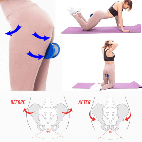 Pelvic Muscle Hip Trainer -THICK BOOTY TRAINER | BOOTY BUILDER | Hip Trainer & Buttocks Lifting Exercise| Legs exerciser- noixoy