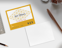 Load image into Gallery viewer, Art Fitters Gift Card