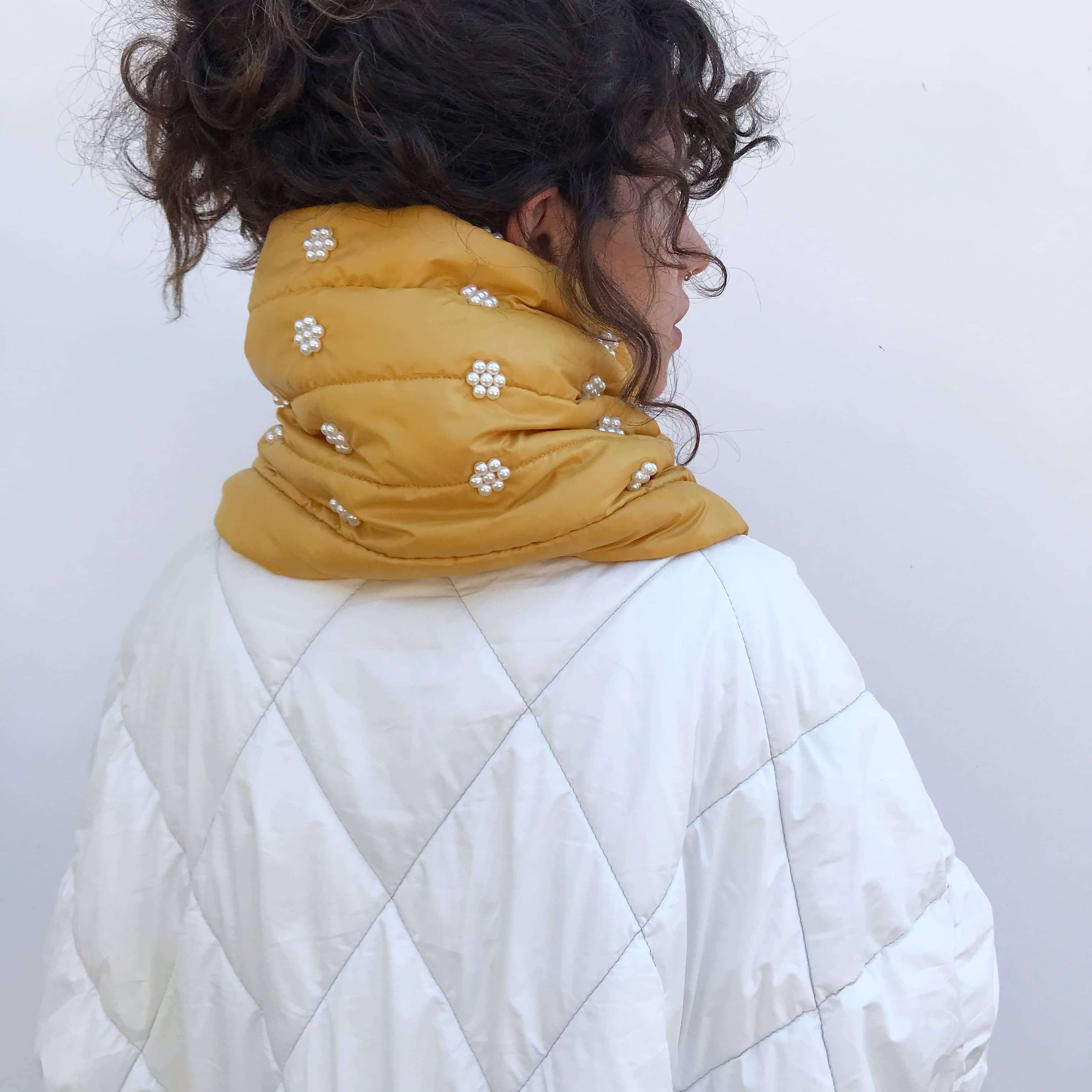 Yellow Ivy Scarf