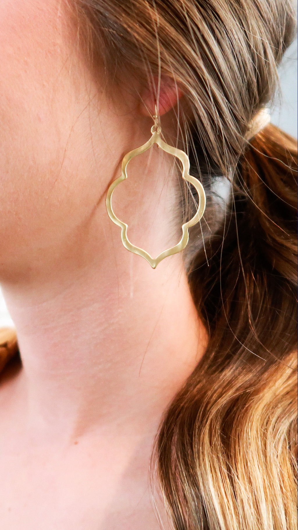 Moroccan Earrings-Gold