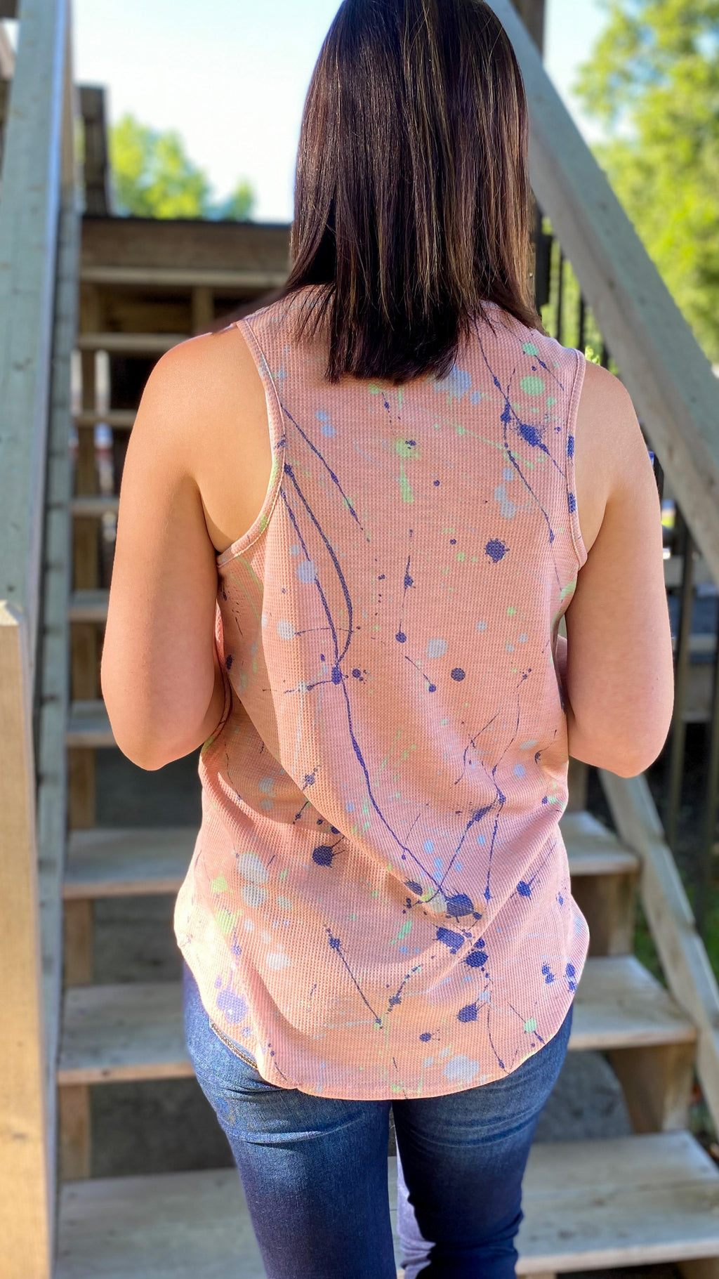 Paint Splatter Tank