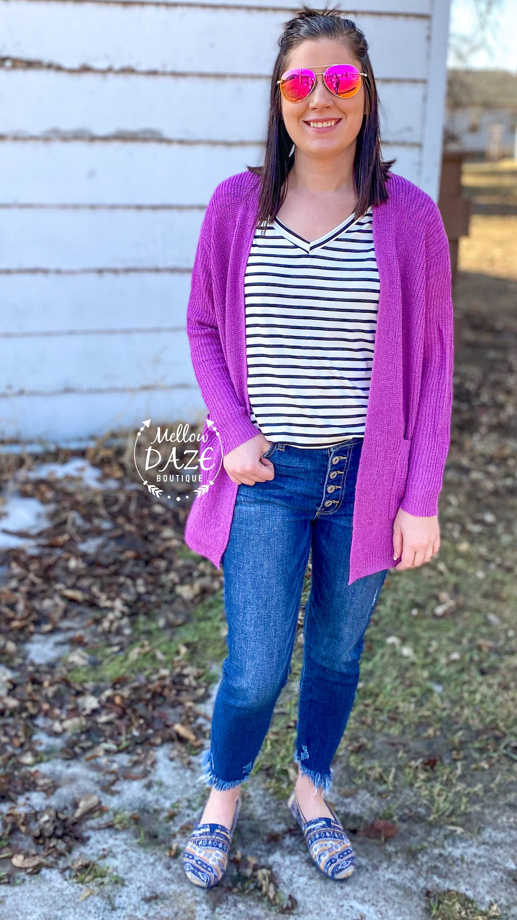 Orchid Bliss Cardigan