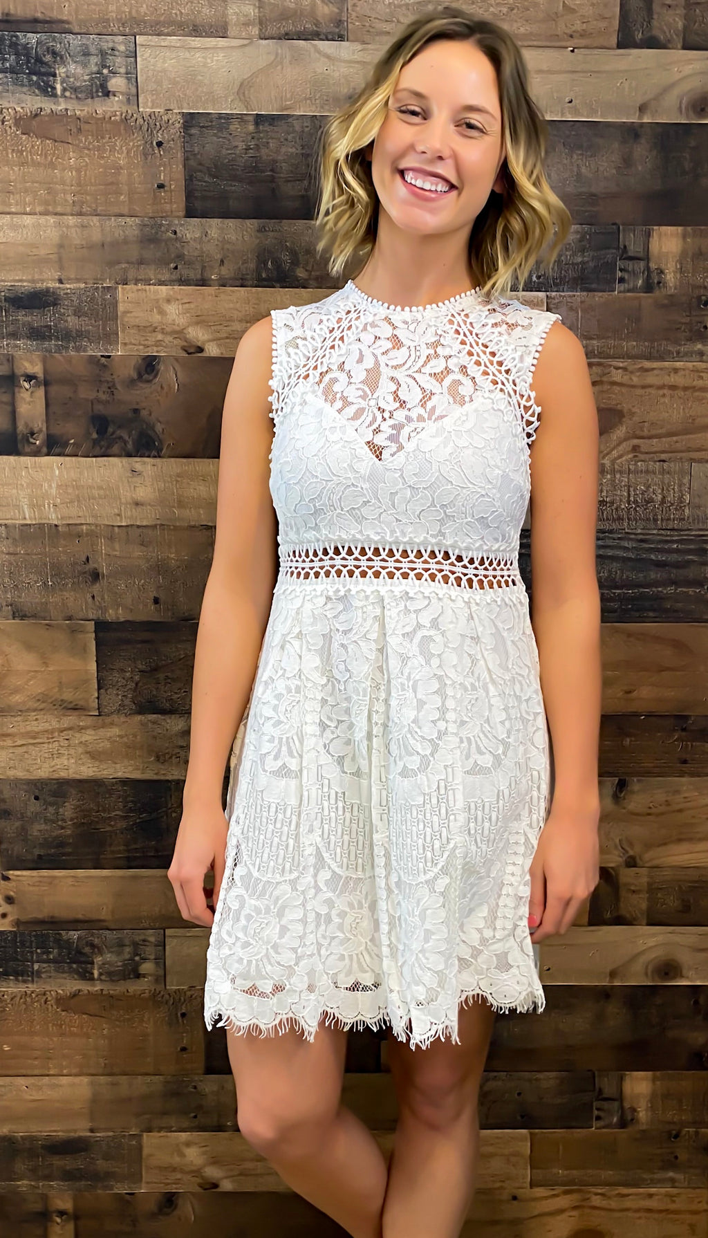 Take Me Away Lace Dress