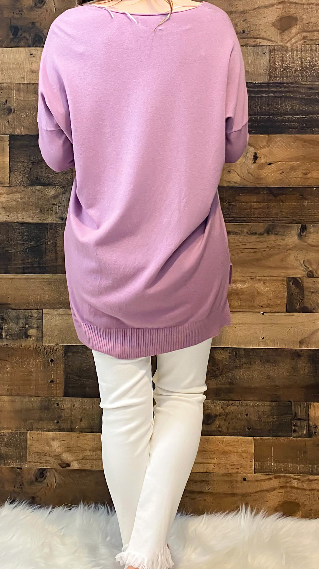 Dreamers Sweater-Lilac