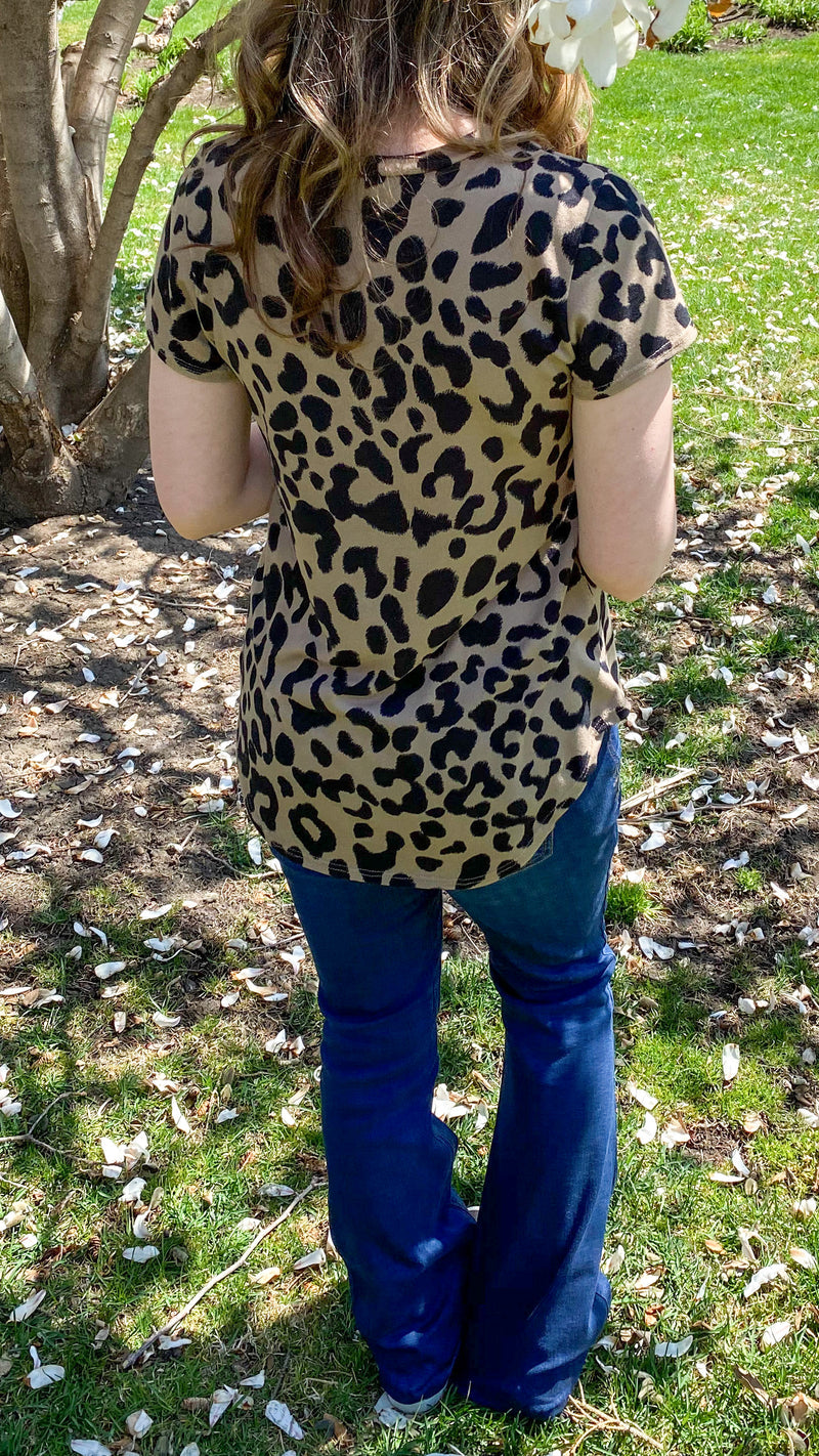 Wild Thing Leopard Top