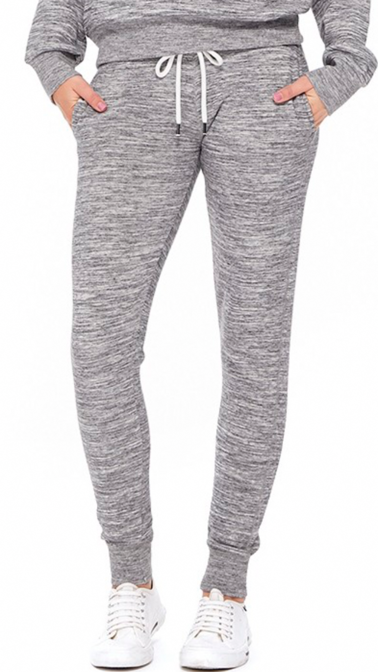 Light Grey Marble Joggers