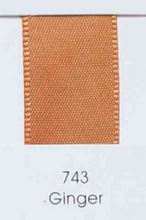 Load image into Gallery viewer, Ginger Burnt Orange Grosgrain Riboon