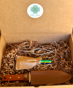 Garden Gift Box or Basket with Garden Tools