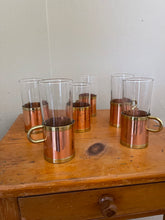 Load image into Gallery viewer, Vintage Irish Coffee Set with Copper - Buechler Copper and Brass