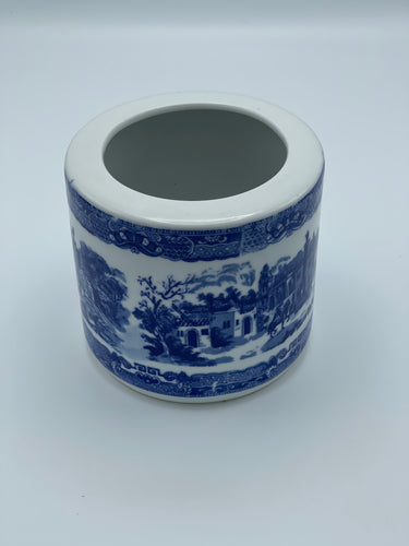 Victorian Ironstone Canister - Made in England