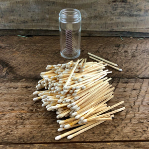 White Wooden Loose Bulk Matches