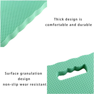 Thick foam garden kneeling pad mat for gardeners is waterproof