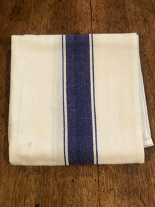 Striped Cotton Kitchen Towel Set (3) - High Weight Cotton Dish Towel Set with Herringbone Weave