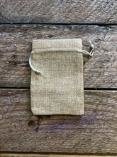 "Load image into Gallery viewer, Burlap Gift/Sachet Bags with Drawstring (Jute Bag) - 4""x5"" Quantity 25"