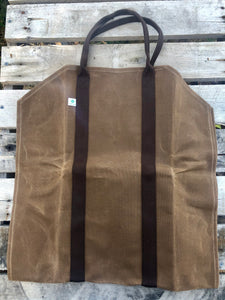 log carrier and firewood bag